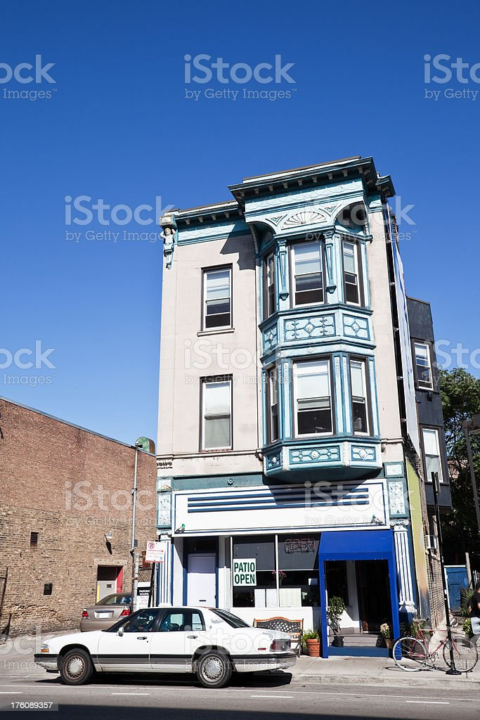 Chicago Neighborhood Diner royalty-free stock photo
