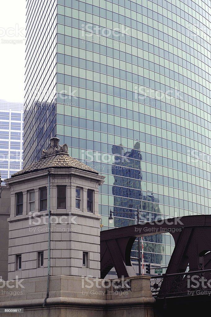 Chicago office building royalty-free stock photo