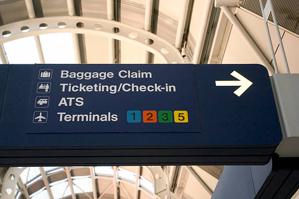 Chicago O'Hare International Airport stock photo