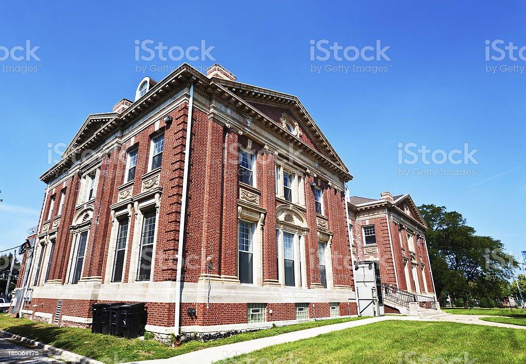 Chicago Orphan Asylum Building stock photo