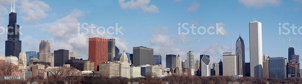 Chicago Panorama royalty-free stock photo
