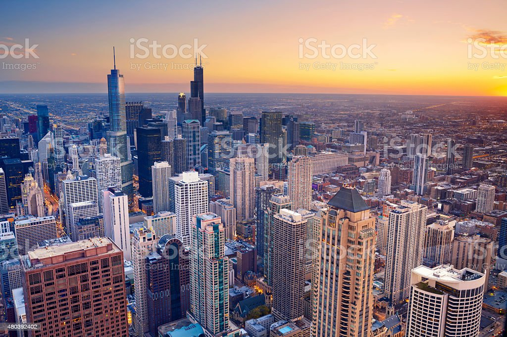 Chicago. stock photo