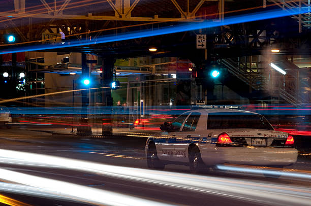 Chicago Police stock photo