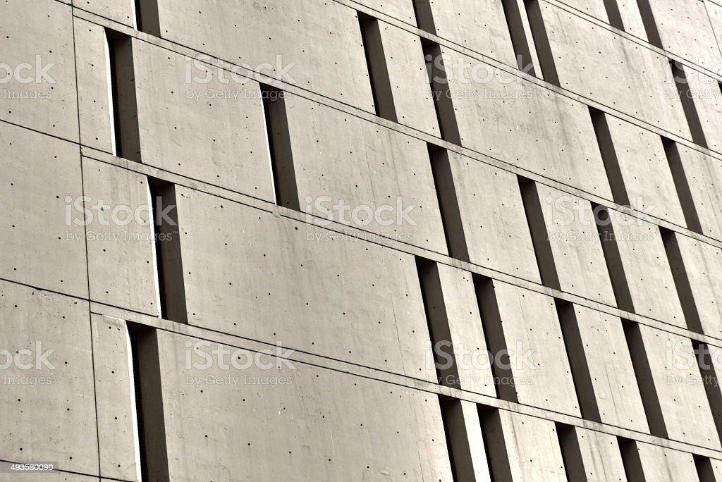 Chicago- Prison, Metropolitan Correctional Center, architecture stock photo