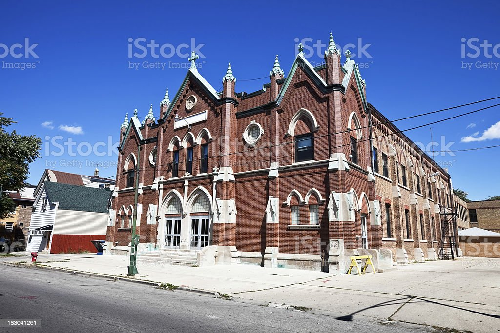 Chicago Public School royalty-free stock photo