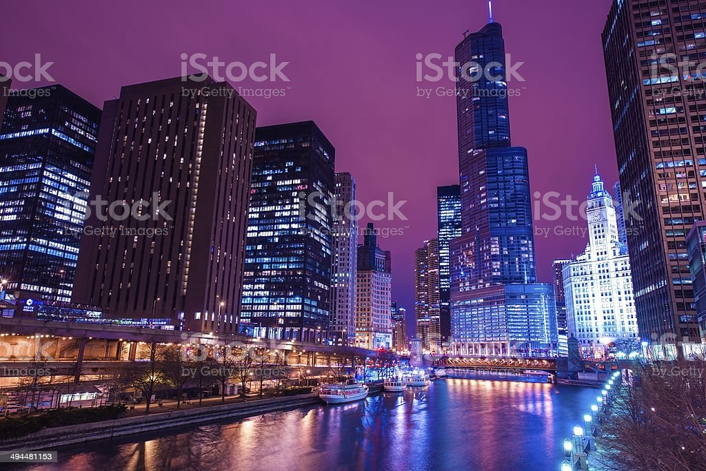 Chicago Reflections - Royalty-free Arranging Stock Photo