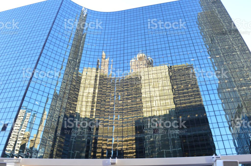 Chicago reflections - Royalty-free 2015 Stock Photo