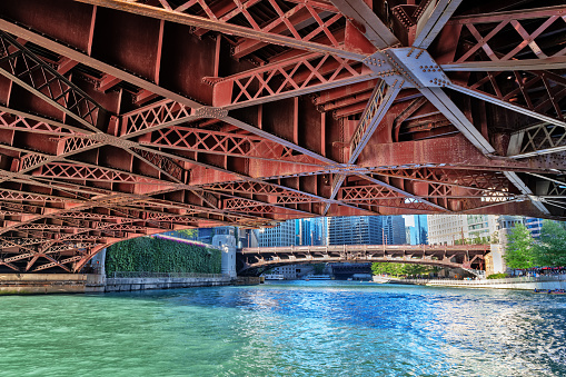 Chicago River and Bridges