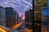 istock Chicago Riverwalk at Sunset 1210003556