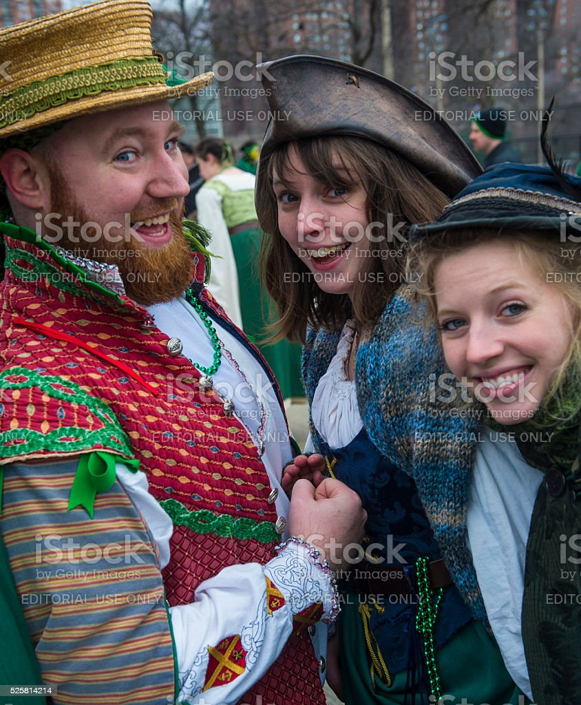 Chicago Saint Patrick Parade Stock Photo More Pictures Of