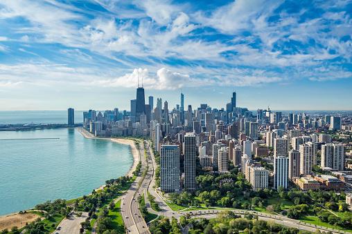Chicago Skyline Free Photo On Barnimages