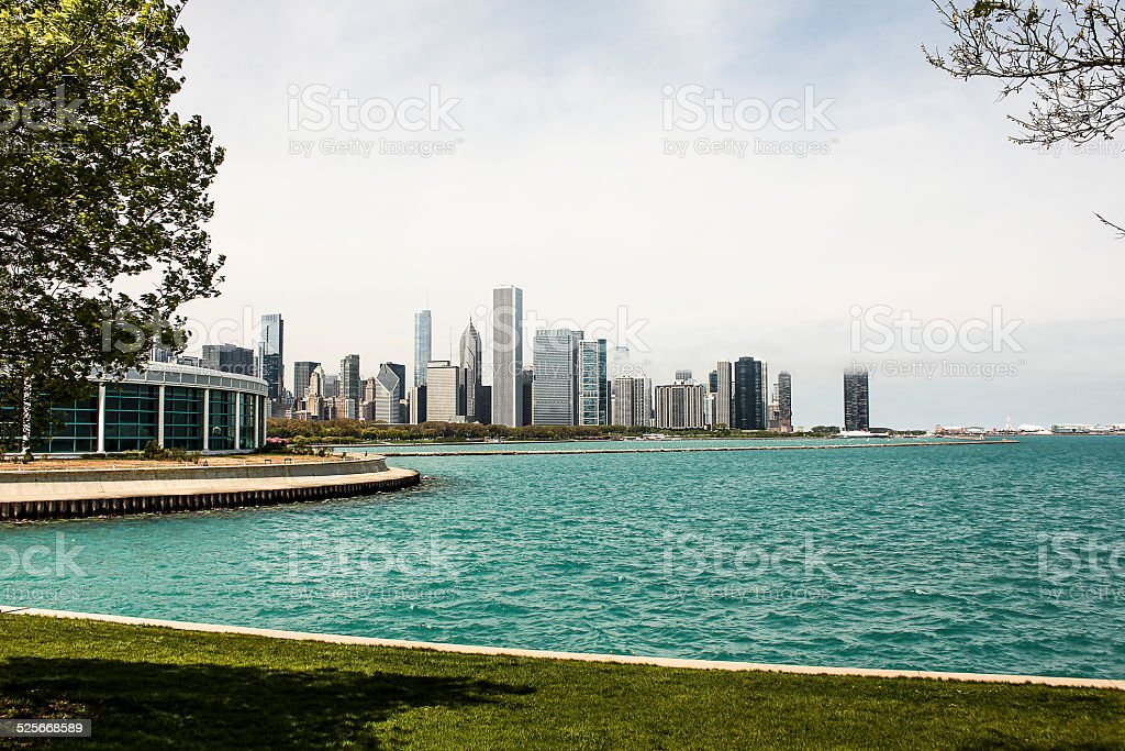Chicago Skyline by Notherly Island stock photo
