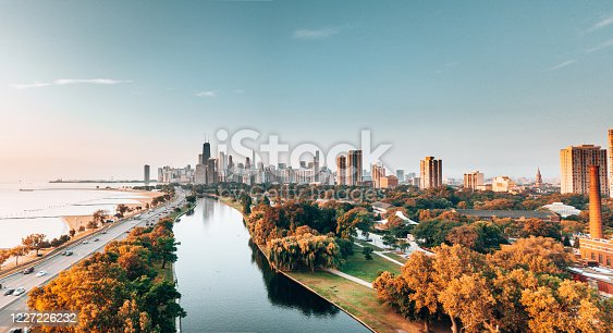istock chicago skyline from the park 1227226232