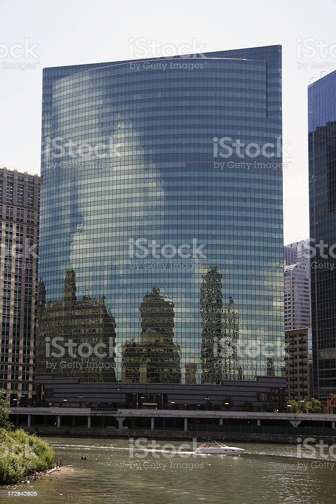 Chicago skyline. stock photo