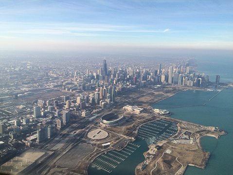 Chicago Skyline Stock Photo - Download Image Now
