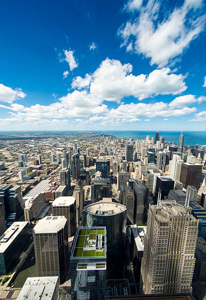 Chicago Skyline Skyscrapers stock photo