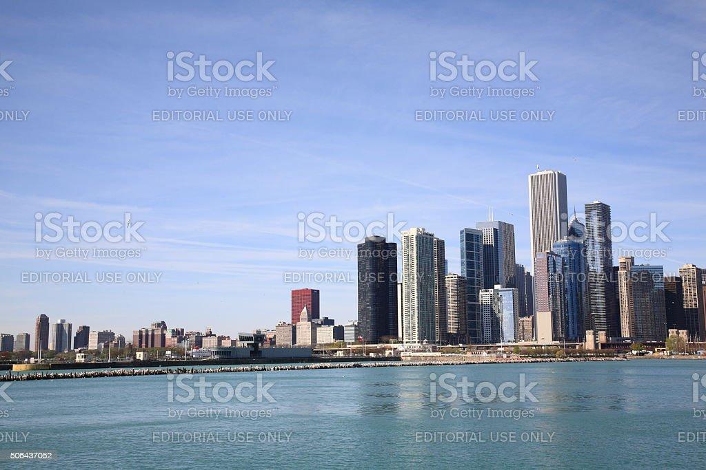 Chicago Skylne stock photo
