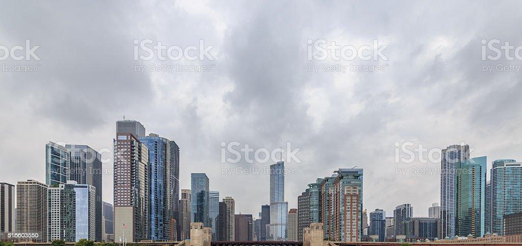 Chicago Skyscraper Cityscape stock photo