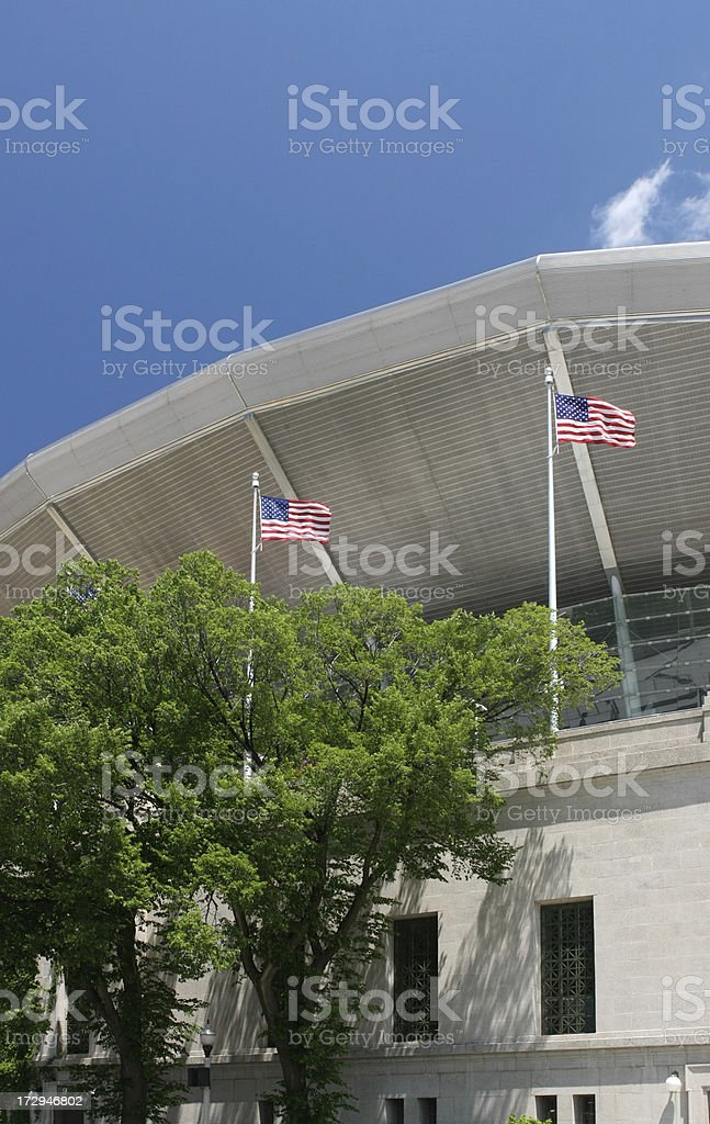Chicago Soldier Field Upper Deck royalty-free stock photo