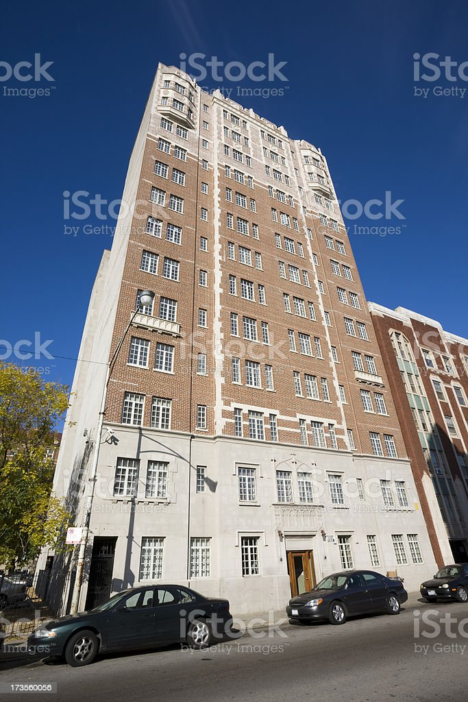 Chicago South Shore Apartment Tower royalty-free stock photo