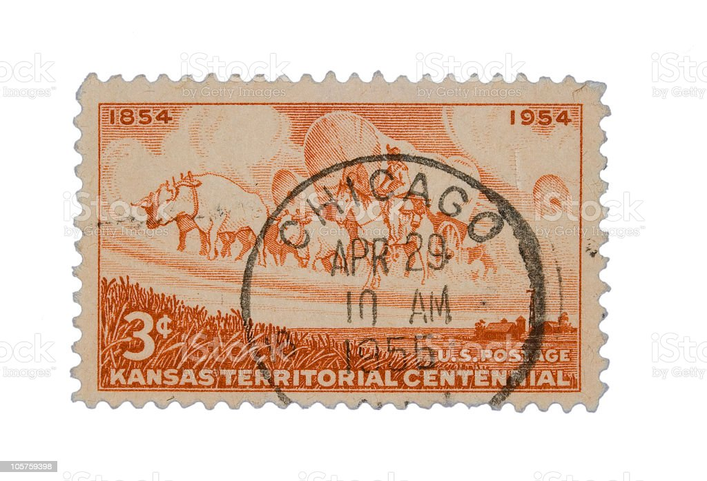 Chicago Stamp royalty-free stock photo
