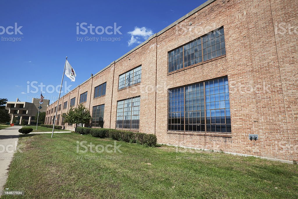 Chicago State University in Roseland royalty-free stock photo