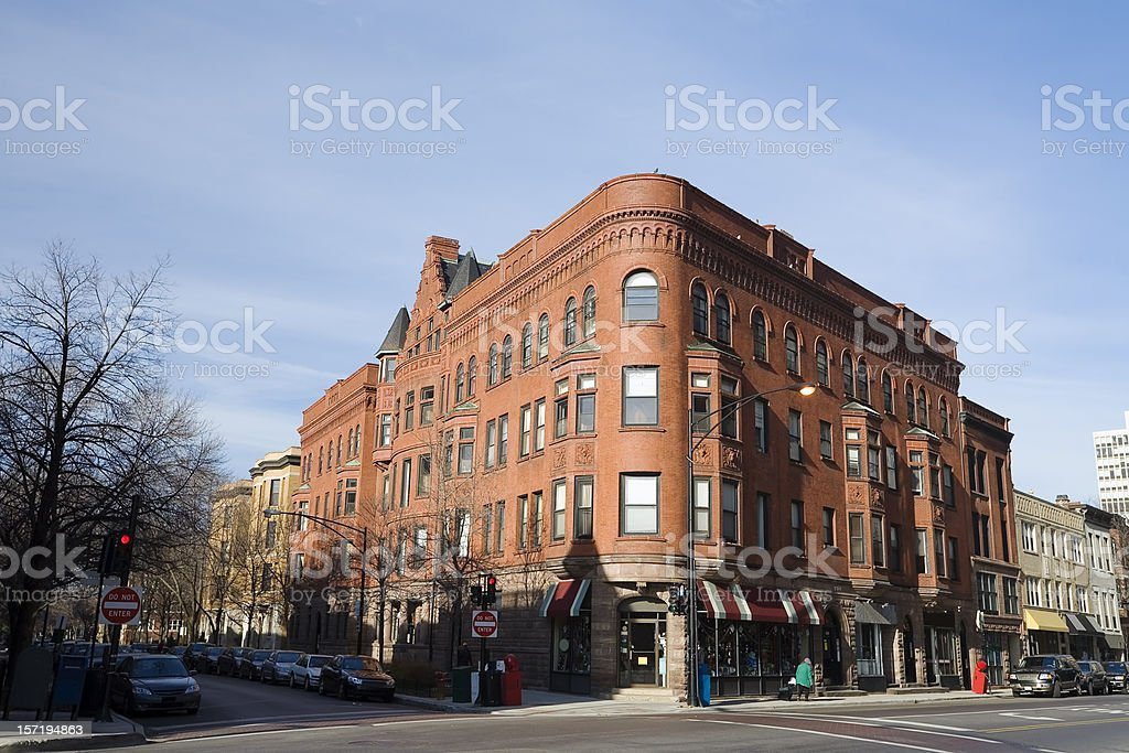 Chicago Street stock photo