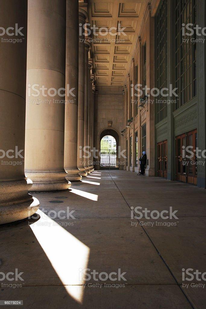 Chicago Union Station stock photo