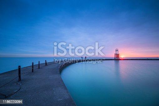 Chicago - Illinois, North Avenue Beach, Illinois, Lighthouse, Midwest USA