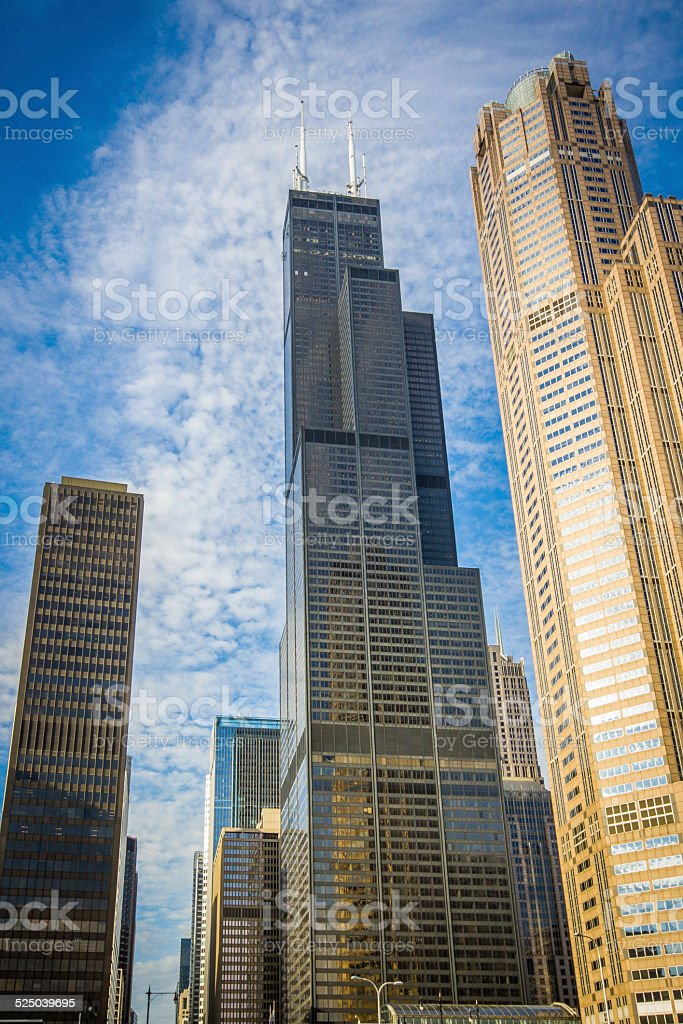 Chicago Willis Tower stock photo