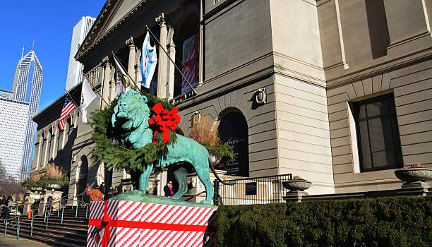 Chicago's Art Institute stock photo