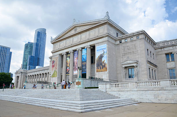 Chicago's Field Museum of Natural History stock photo