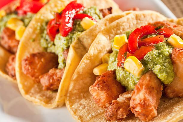 Chicharron Tacos - foto de stock