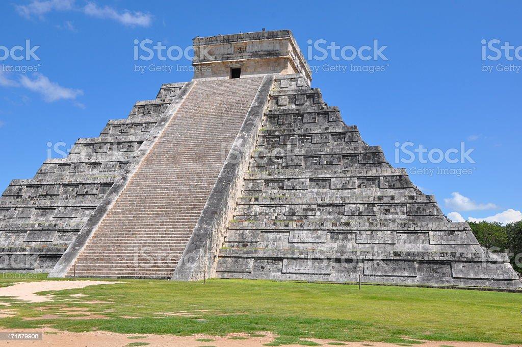 Chichen Itza in Mexico stock photo