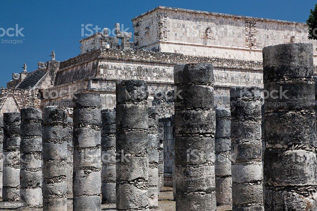 Chichen Itza in Yucatan, Mexico stock photo