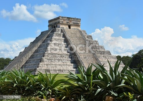 Chichen Itza Ruins in Mexico Yucatán