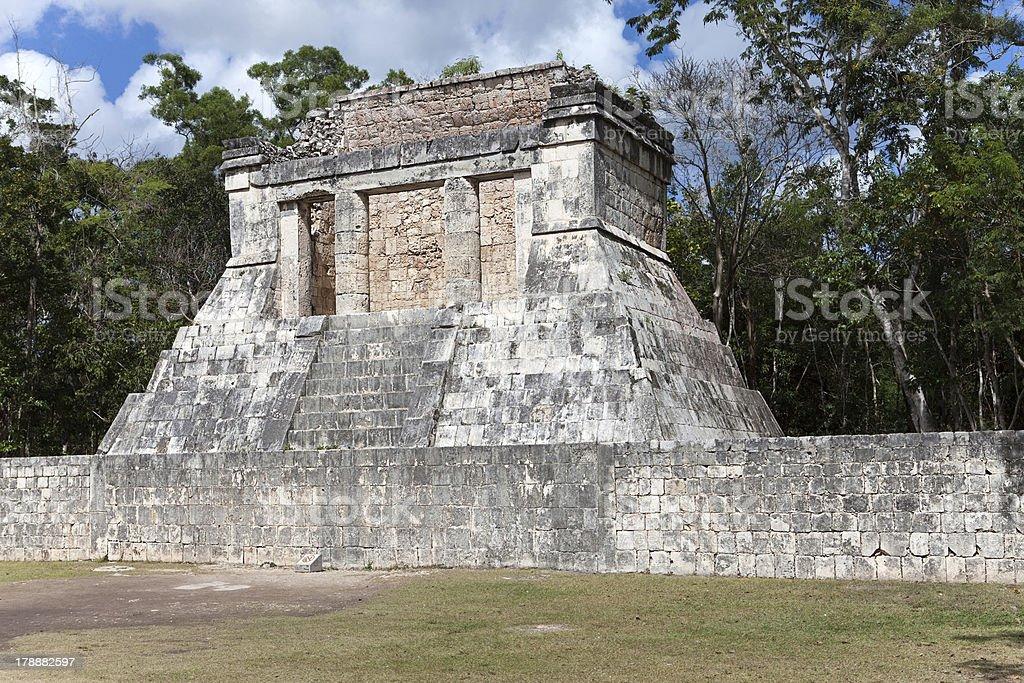 Chichen Itza pyramid, Yucatan, Mexico royalty-free stock photo