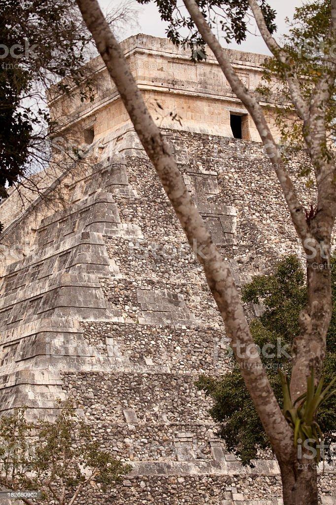 Chichen Itza Ruins royalty-free stock photo