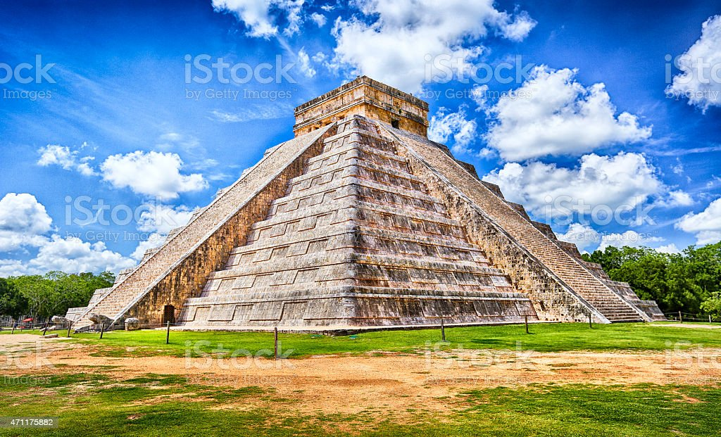 Chichen Itza, Yucatan, Mexico stock photo