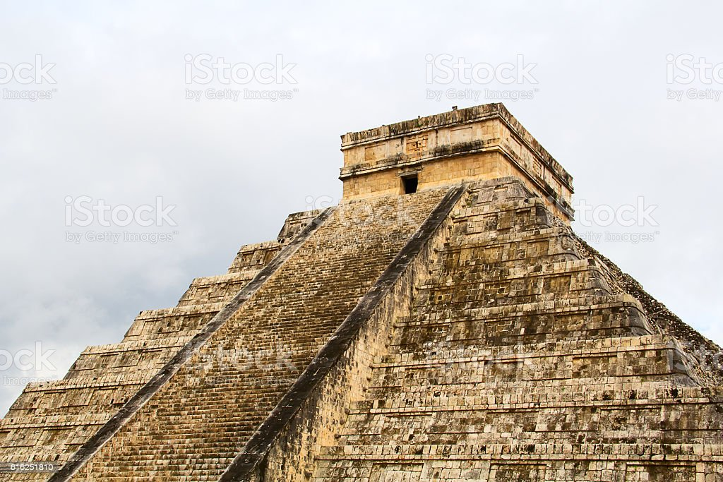 Chichen-Itza stock photo