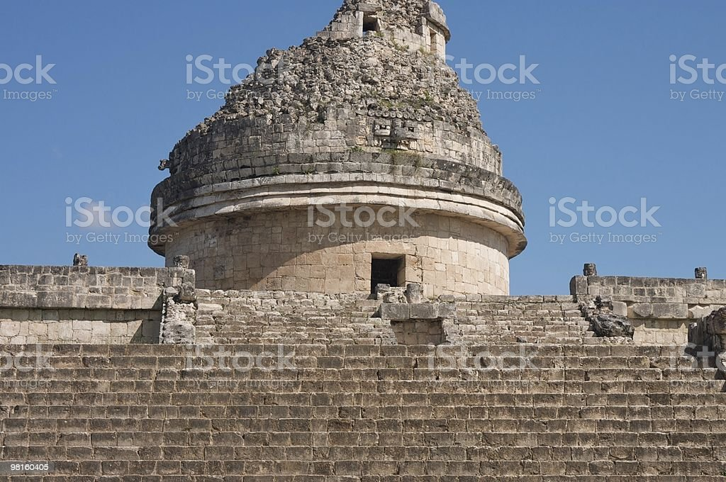 chichen-itza royalty-free stock photo