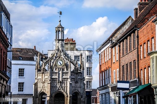 Chichester Cross Clock In West Sussex, England