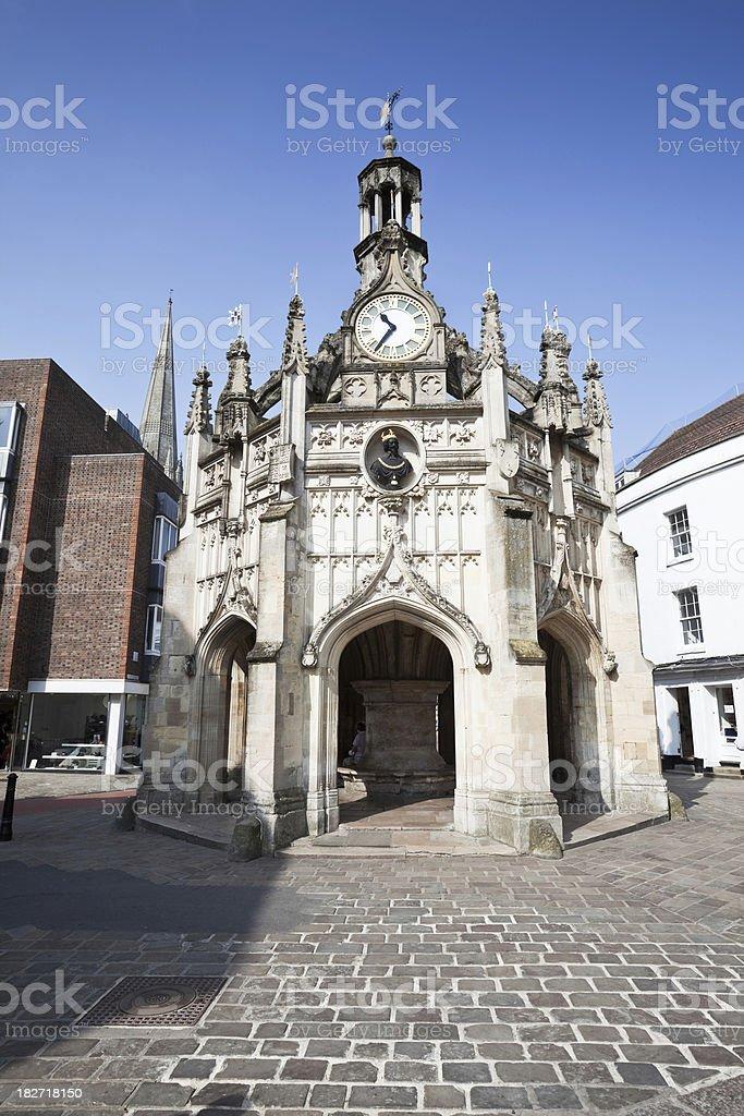 Chichester Medieval Landmark stock photo