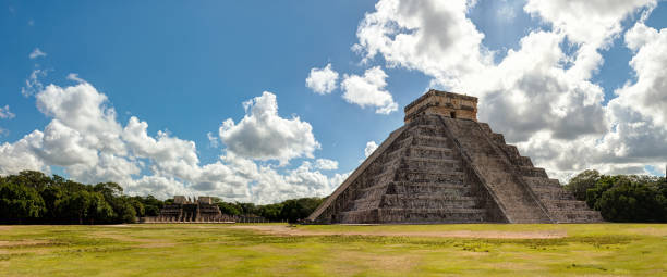 Chichén itzá archaeological site, Yucatan - Mexico stock photo