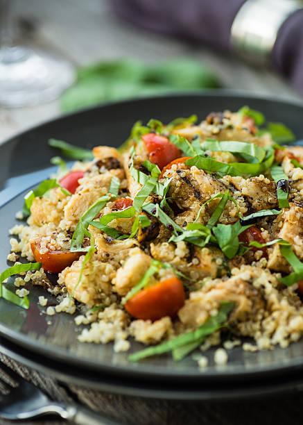 Chicken and Quinoa stock photo