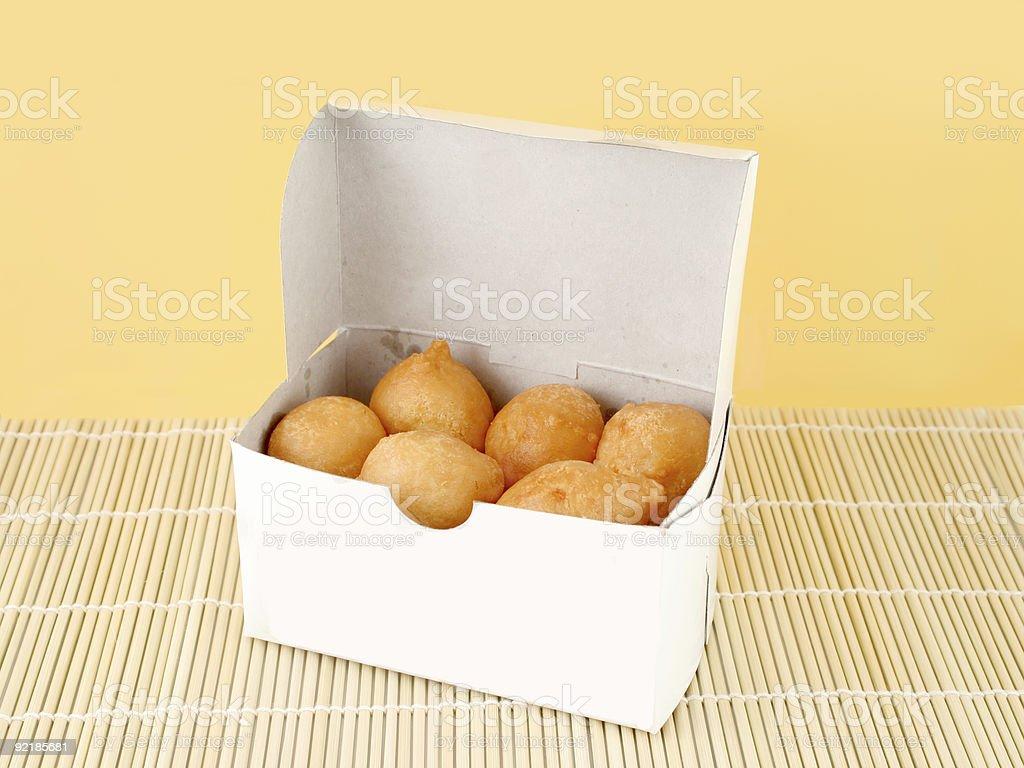 chicken balls royalty-free stock photo
