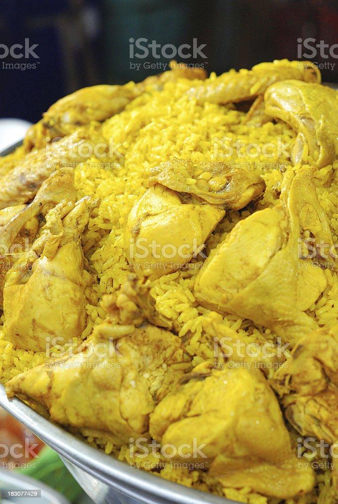chicken biryani royalty-free stock photo