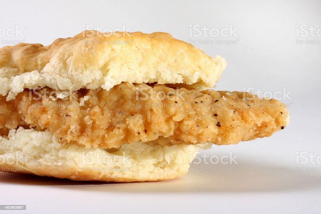 chicken biscuit stock photo