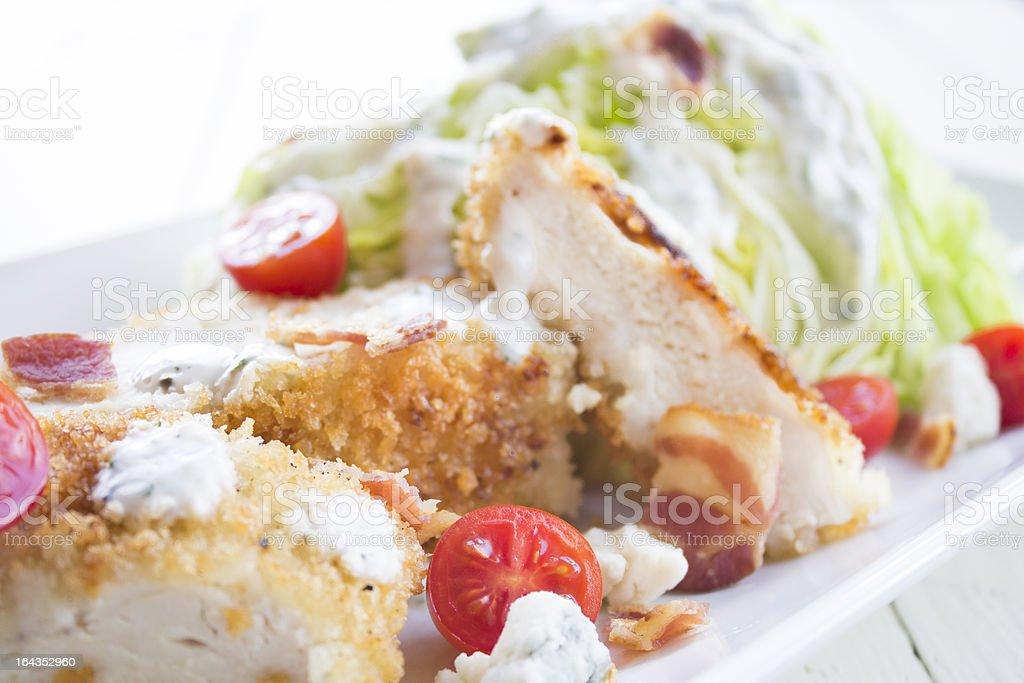 Chicken BLT Salad stock photo