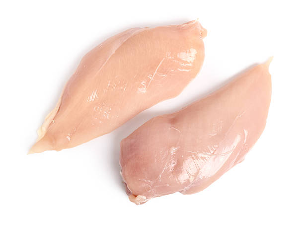 Chicken breast isolated on a white background directly above picture id579731594?b=1&k=6&m=579731594&s=612x612&w=0&h=l6feqyi8qlkz4e0nzw zvqfyaa509fickxg x3nv lo=